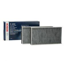 2x Nowe Oryginalne BOSCH Filtry Filtr Kabinowy Pyłkowy Węglowy Mikrofiltr Bmw 5 E60 E61 6 E63 E64 Bosch Nr.1987432402
