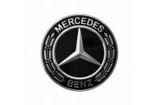 Nowy Oryginalny Znaczek Emblemat Mercedes AMG Mercedes SLK CLA SL GLA A SLC W246 A0008171801