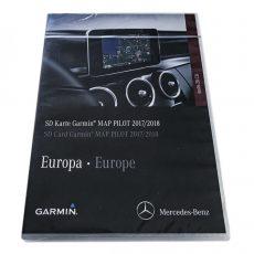 Nowa Oryginal Mapa Garmin MAP PILOT V. 9.0 2018 SD Karta Mercedes CLA GLA CLS GLC GLE W246 W176 A2189061903