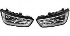 2x New Complete Headlights Lamp Bixenon Xenon Led For Audi A1 S1 8X Facelift 8XA941005