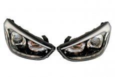 2x Nowe Oryginalne Reflektory Bixenon LED Diody Soczewka Lampy Kompletne Hyundai IX35