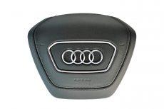 1x Nowa Oryginalna Poduszka Powietrza AirBag Kierownicy Skóra Naturalna Audi A6 A7 A8 4N0880201L
