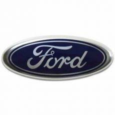 1x Nowy Oryginalny Znaczek Emblemat Zderzaka Znaczek z Przodu Maski Ford C-Max S-Max Focus Fiesta Transit C1BB-8B262-BA