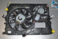 Nowe Oryginalne Chłodnica Wody Oleju Klima Chłodnice + 2x Wentylator Vw Touareg Audi Q7 Porsche Cayenne 7L6121253B